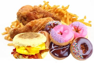 junk food stress